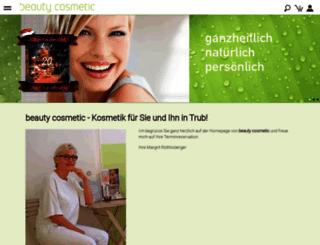 beauty-cosmetic.ch screenshot