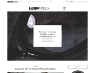 beauty-insider.de screenshot
