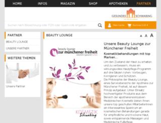 beauty-lounge.de screenshot
