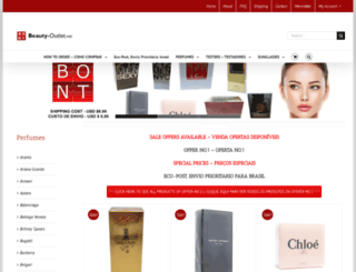 beauty-outlet.net screenshot