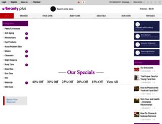 beauty-plus-shop.com screenshot
