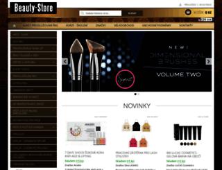 beauty-store.cz screenshot