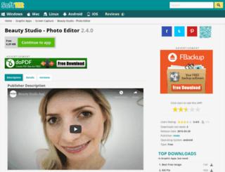 beauty-studio-photo-editor.soft112.com screenshot