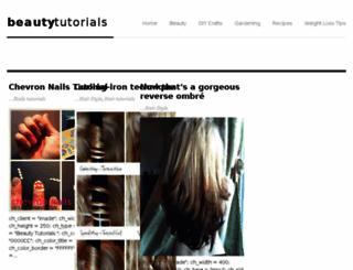 beauty-tutorial.blogspot.com screenshot