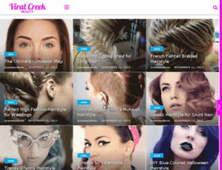 beauty.viralcreek.com screenshot
