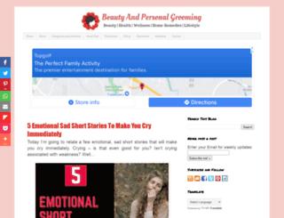 beautyandgroomingtips.com screenshot