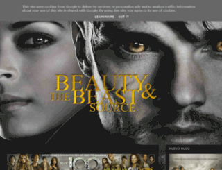 beautyandthebeastsource.blogspot.com.es screenshot