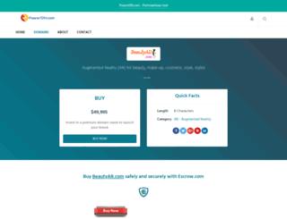 beautyar.com screenshot