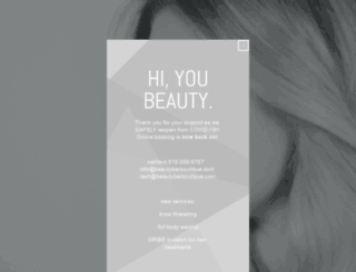 beautybarboutique.com screenshot