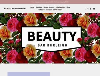 beautybarburleigh.com.au screenshot