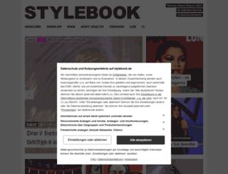 beautyblog.stylebook.de screenshot