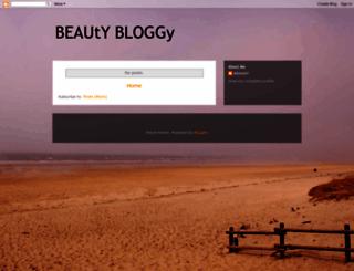 beautybloggy.blogspot.com screenshot
