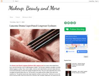 beautyblogofakind.blogspot.com screenshot