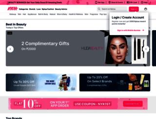 beautybook.nykaa.com screenshot