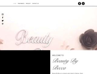 beautybybecca.co.uk screenshot