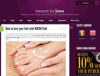 beautybyjules.com screenshot