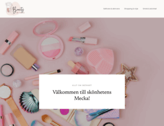 beautybytanci.se screenshot