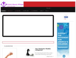 beautybyviolett.com screenshot