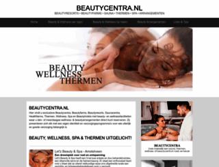 beautycentra.nl screenshot