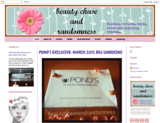 beautychaseandrandomness.blogspot.com screenshot