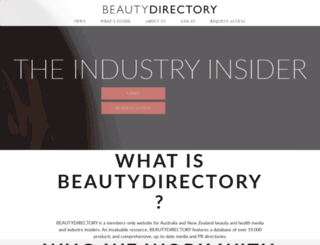 beautydirectory.com.au screenshot