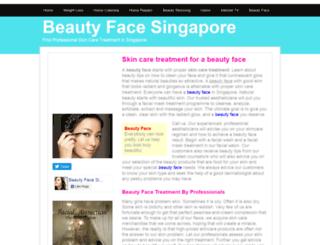 beautyface.insingaporelocal.com screenshot
