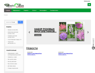 beautyflora.ru screenshot
