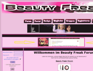 beautyfreaks.freiforum.com screenshot