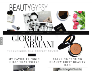 beautygypsy.com screenshot