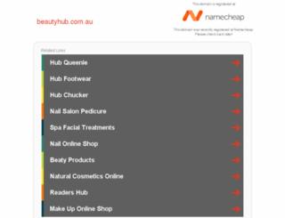 beautyhub.com.au screenshot