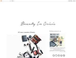beautyincrisis.blogspot.gr screenshot
