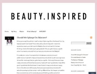 beautyinspired.com.au screenshot