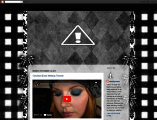 beautyjunkeee.blogspot.ca screenshot
