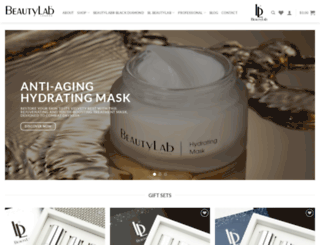 beautylabinternational.com screenshot