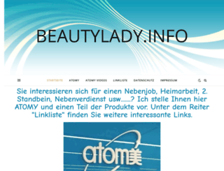 beautylady.info screenshot