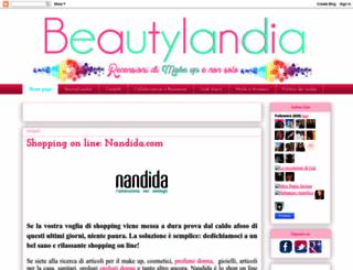 beautylandia.blogspot.com screenshot