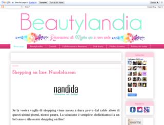 beautylandia.blogspot.it screenshot