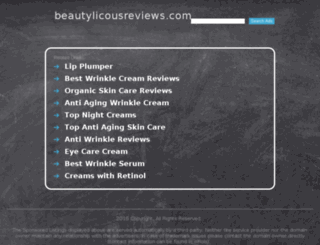 beautylicousreviews.com screenshot
