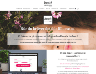 beautymedicalteam.se screenshot