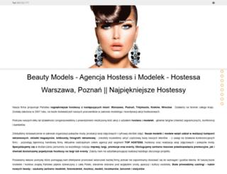beautymodels.pl screenshot