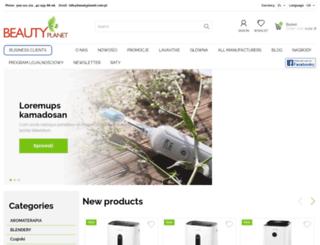beautyplanet.com.pl screenshot