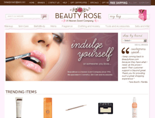 beautyrose.com screenshot