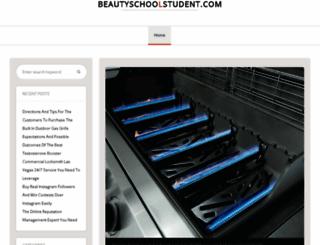 beautyschoolstudent.com screenshot