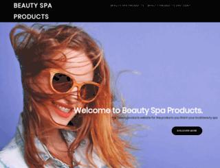 beautyspaproducts.co.uk screenshot