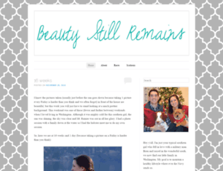 beautystillremains.wordpress.com screenshot