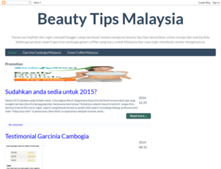 beautytipsmalaysia.blogspot.com screenshot