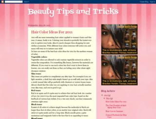 beautytricksntips.blogspot.com screenshot