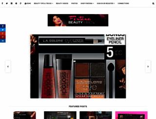 beautyvibes.fontanapharmacy.com screenshot