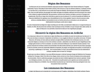 beauzons.fr screenshot