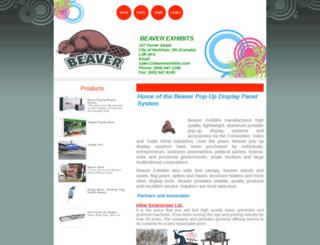 beaverexhibits.com screenshot